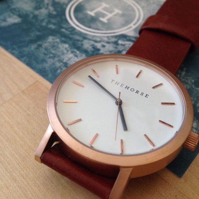 The horse 時計